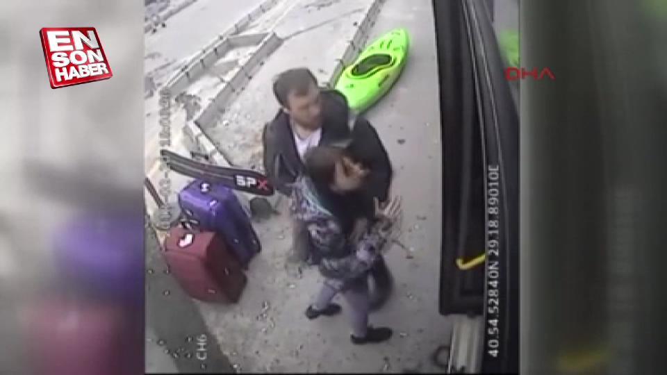 Otobüs şoförüne kano saldırısı