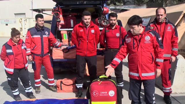 Sağlıkçılar gönüllü Afrin nöbetinde