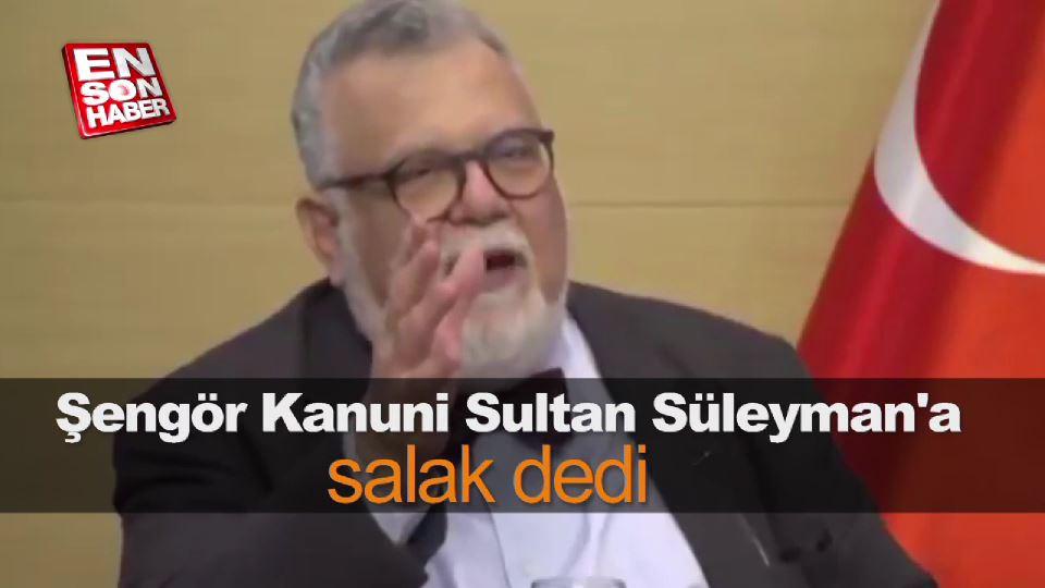 Celal Şengör Kanuni Sultan Süleyman'a salak dedi