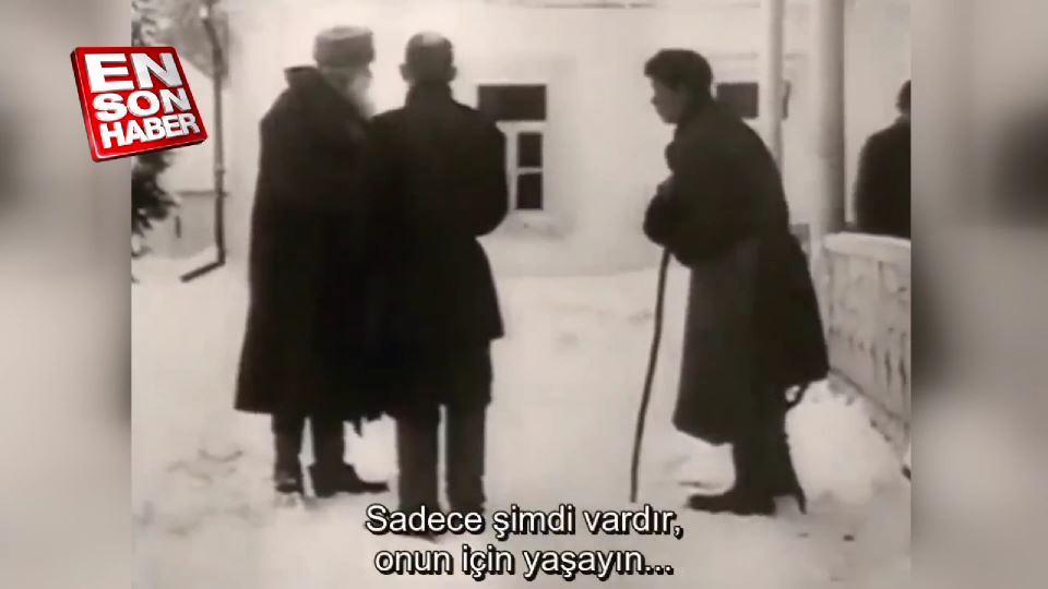 Tolstoy'un ses kaydı Türkçeye çevrildi