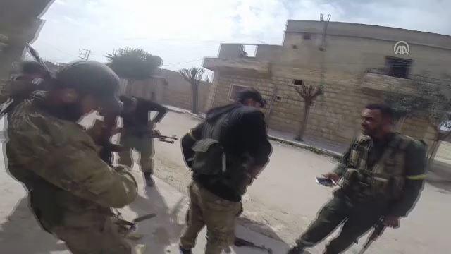 Cinderes'te teröristlerle sıcak çatışma anları