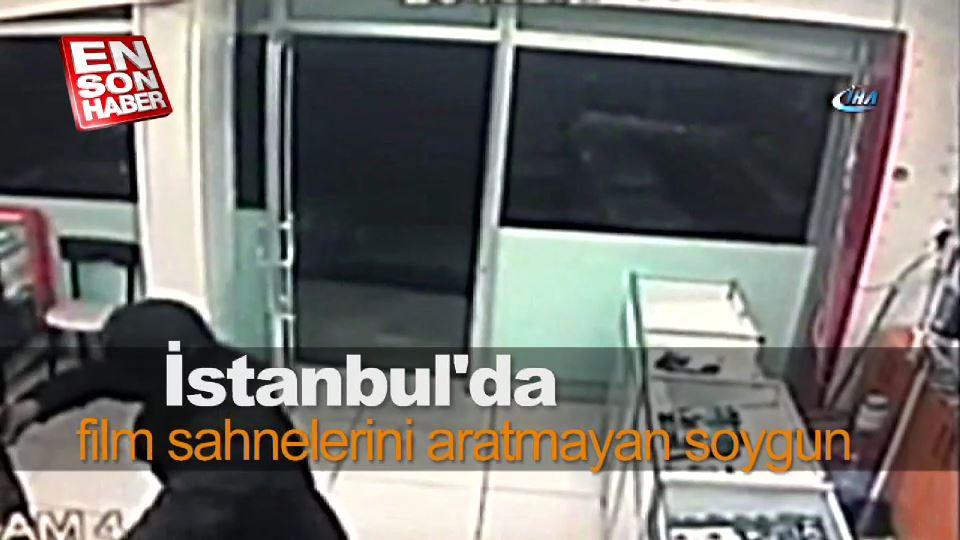 İstanbul'da bir gecede 4 iş yerini soydular