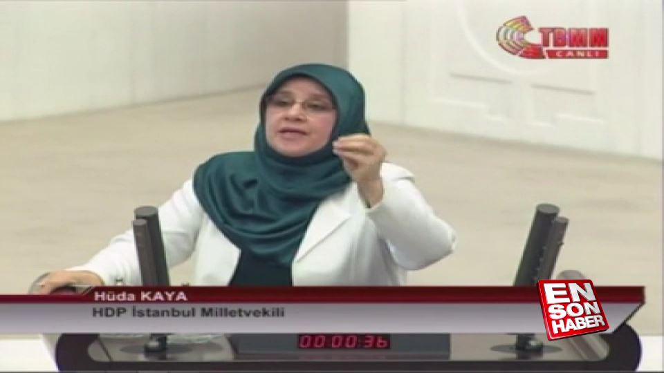 Meclis Başkanı'ndan HDP'li vekile ayar