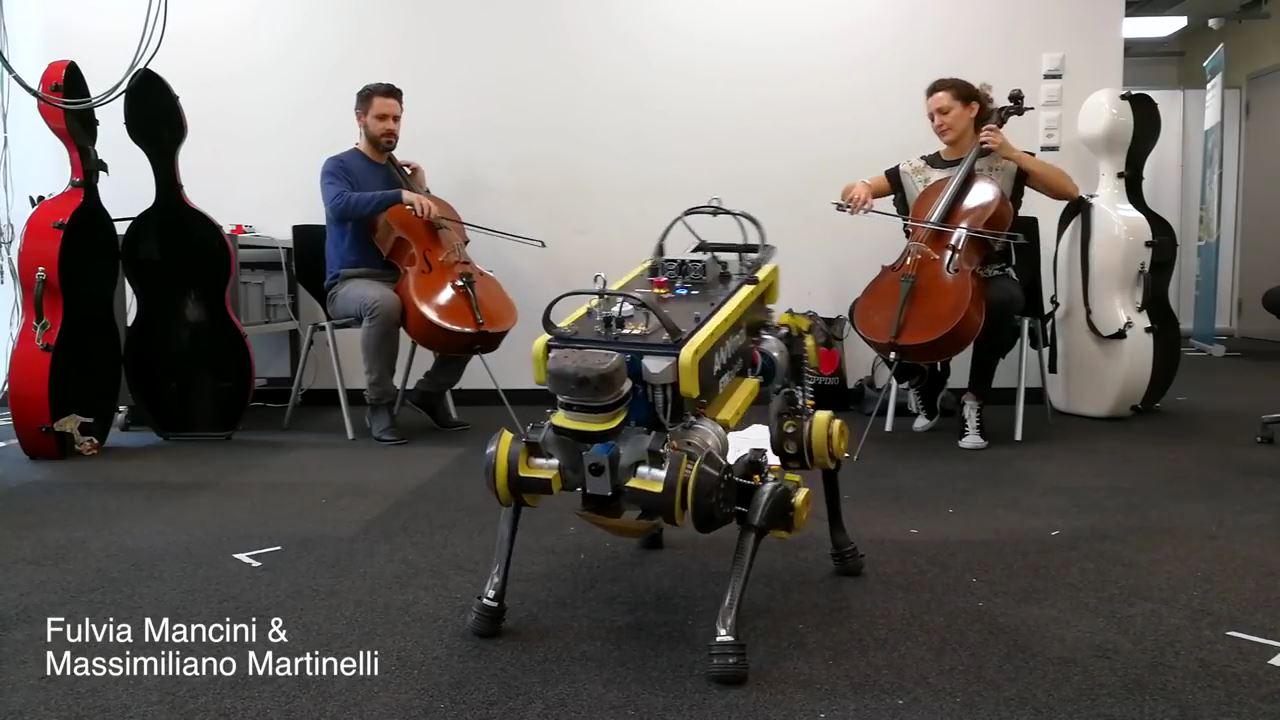 Dans edebilen robot: ANYmal