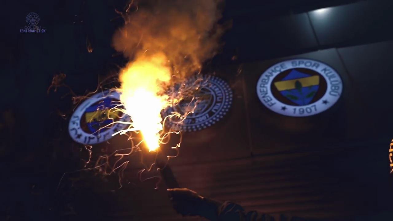 Fenerbahçe'den derbi videosu