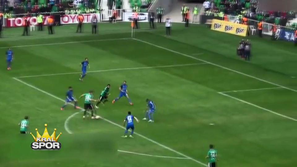 Batuhan Karadeniz'in Sakarya'yı galibiyete taşıyan golü
