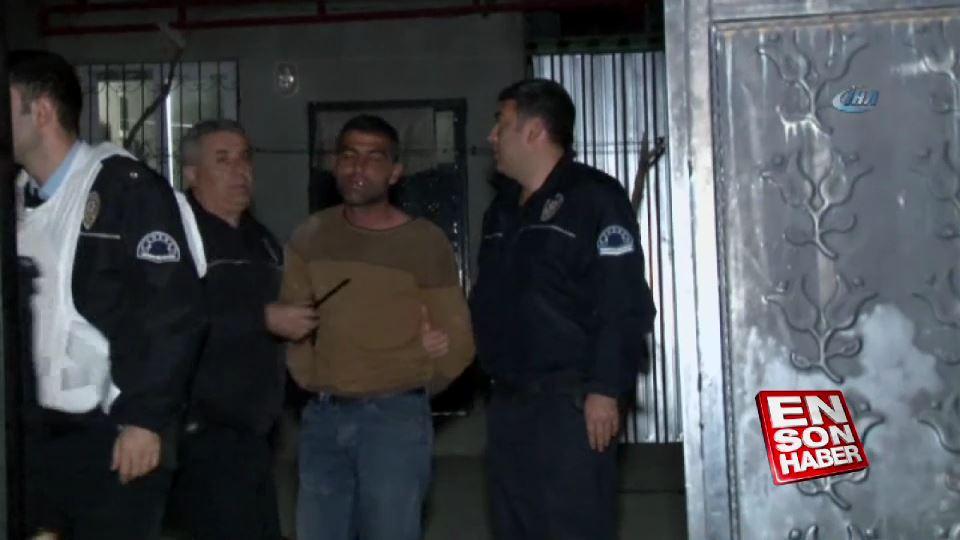 Kendisini evine bırakan polislere ateş eden kişi yakalandı