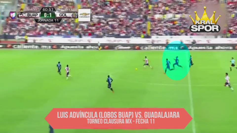 Dünyanın en hızlı futbolcusu Luis Advincula