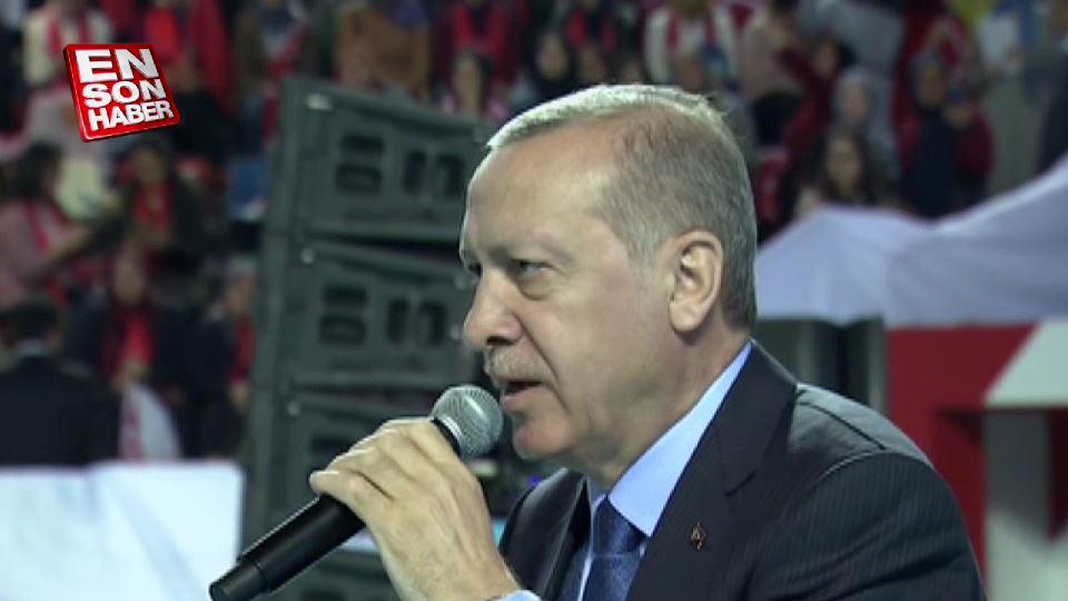 Erdoğan: Üniversite terörist gençlik yetiştirmez