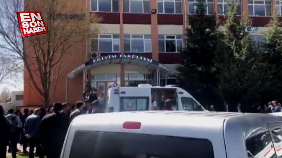 Eskişehir Osmangazi Üniversitesinde silahlı saldırı