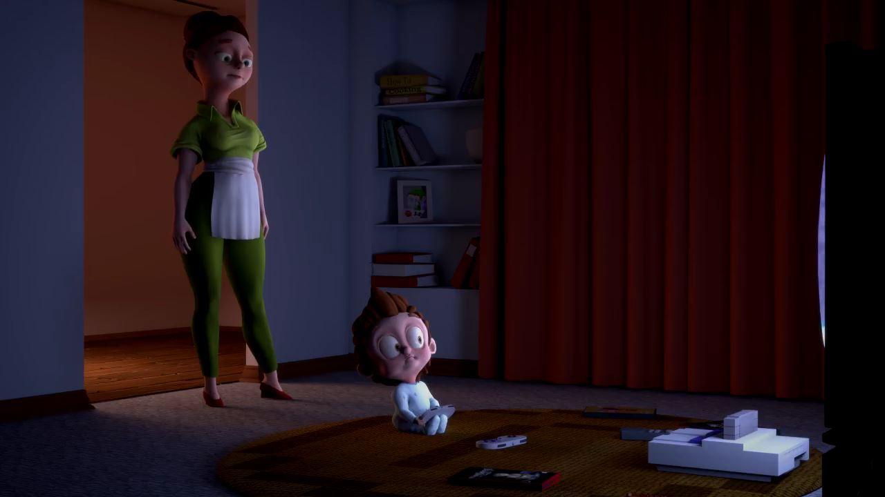 Oyun bağımlısı çocuğu anlatan kısa film: Glued