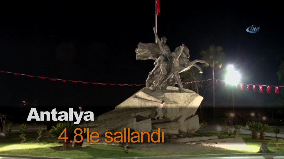 Antalya 4.8'le sallandı