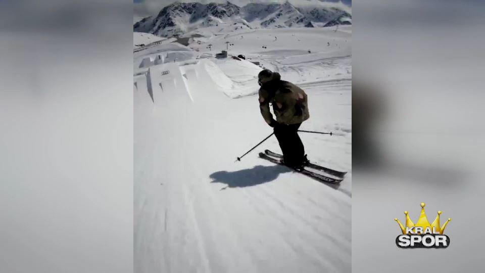 Kayakçı Fabian Bösch'ten harika şov