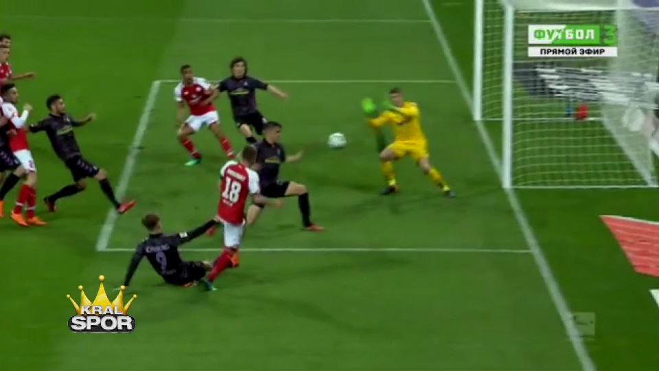 Video hakem devre arasında penaltı verdi