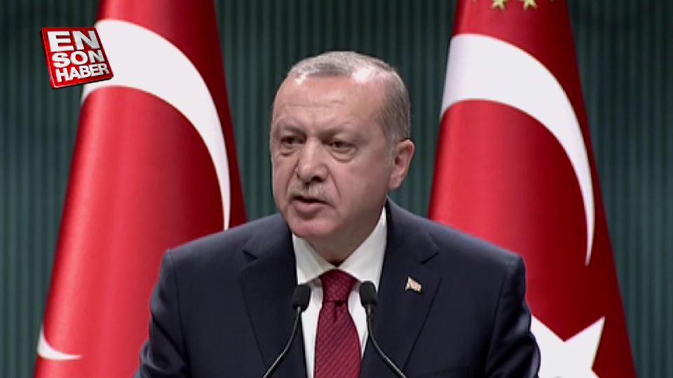 Cumhurbaşkanı, erken seçim kararı aldıklarını açıkladı