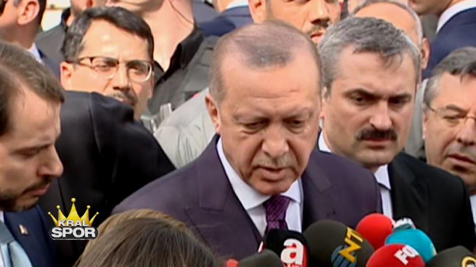 Cumhurbaşkanı Erdoğan'ın derbi yorumu: Kumpas var