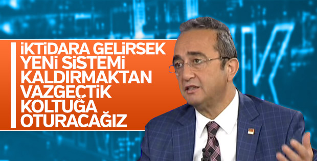 CHP Cumhurbaşkanlığı sistemini kullanmaktan yana