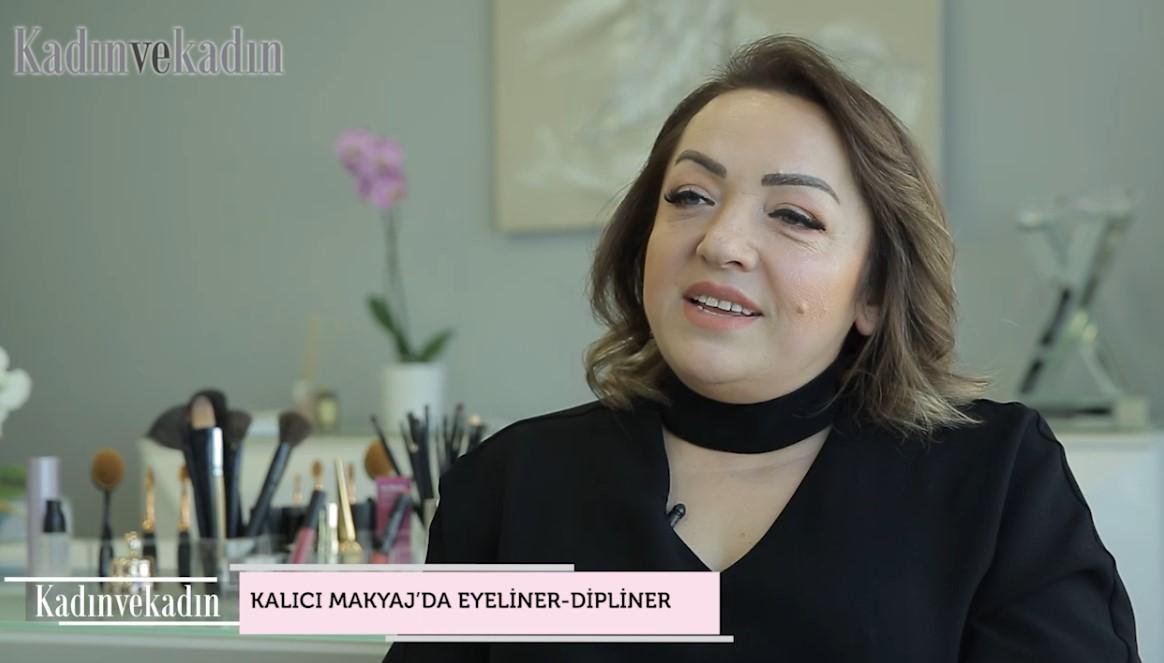 Kalıcı makyaj uygulamasında eyeliner ve dipliner