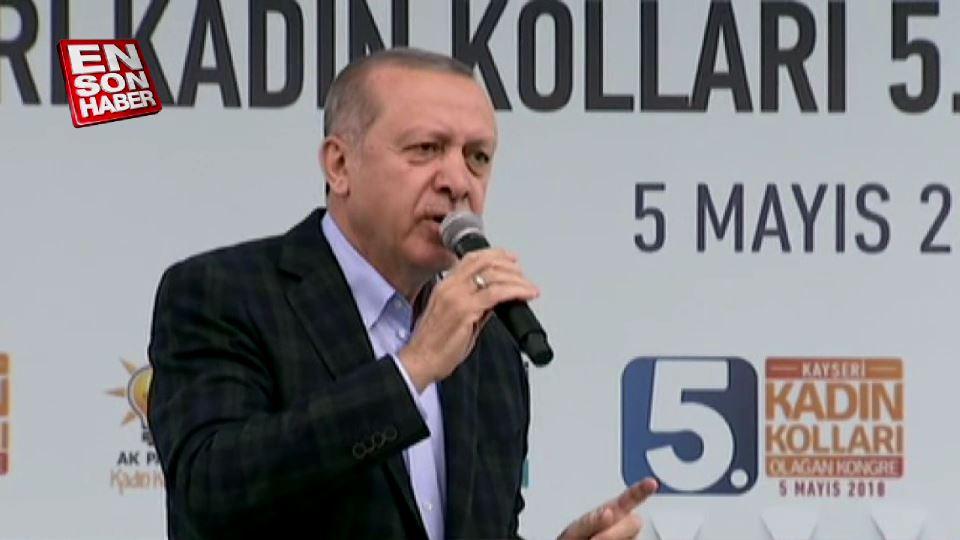 Cumhurbaşkanı Erdoğan: Birileri fitne kaynatıyor