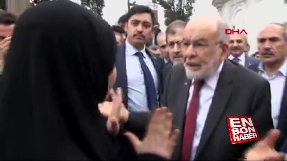 15 Temmuz şehidinin eşinden Karamollaoğlu'na tepki