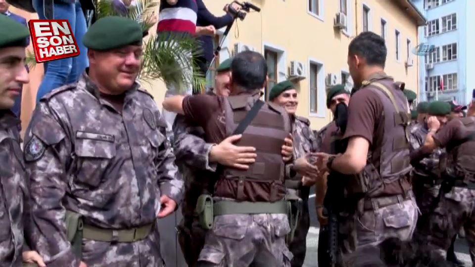 Zeytin Dalı Harekatı'na giden Ordulu PÖH'ler geri döndü
