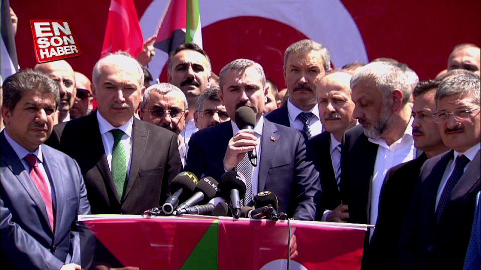 AK Parti İstanbul İl Başkanlığı'ndan İsrail'e tepki