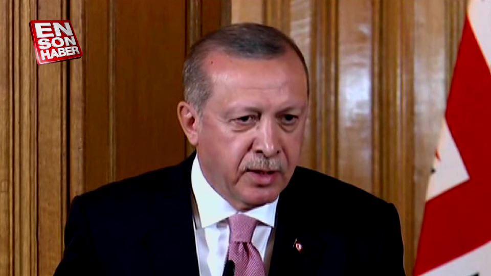 Erdoğan'dan gazeteciye tepki: Teröristten gazeteci olmaz