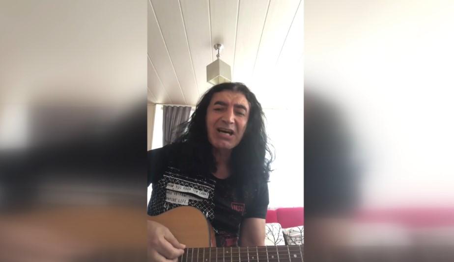 Murat Kekilli'den İsrail'e şarkılı tepki
