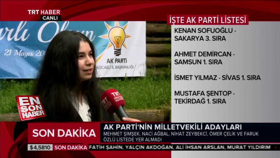 AK Parti'nin en genç milletvekili adayı konuştu