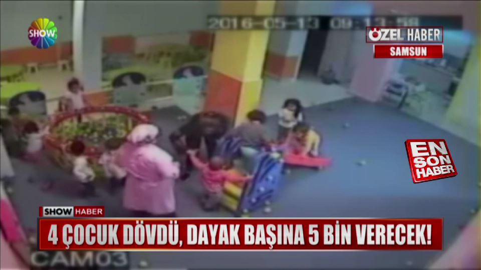 Çocuk döven kreş müdürüne 20 bin lira ceza