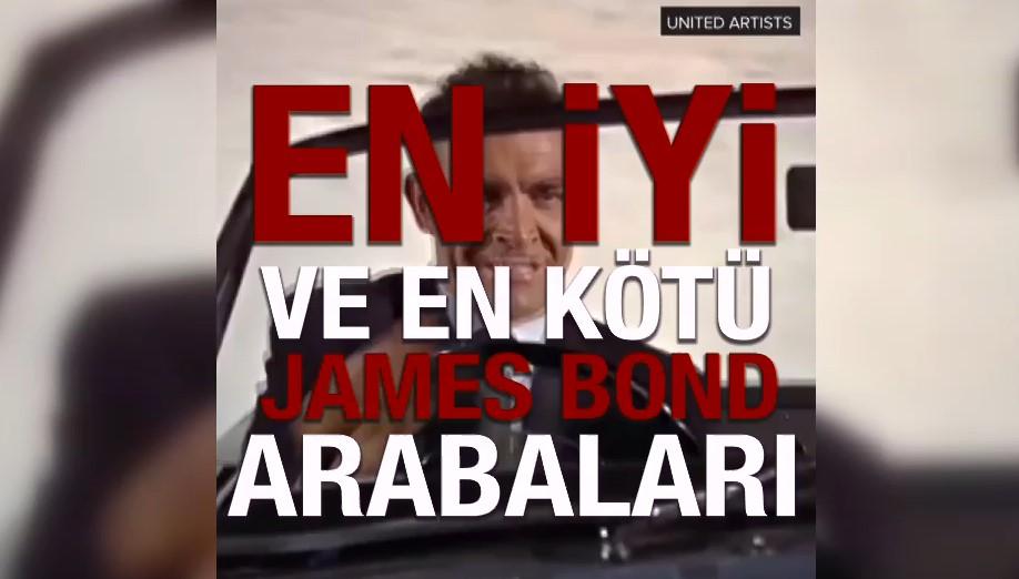 James Bond serisinin en iyi ve en kötü arabaları