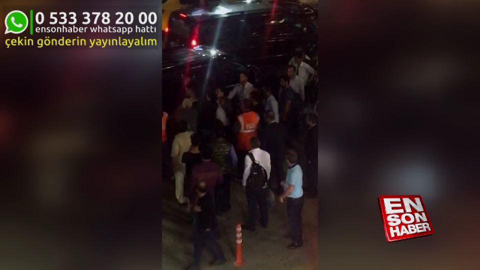 Sabiha Gökçen'de UBER şoförüne saldırı
