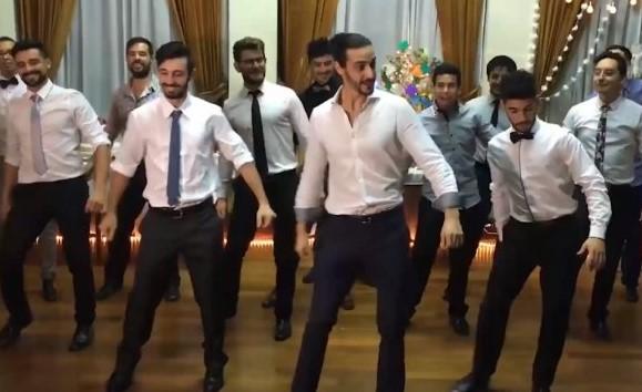 Uruguay'da Erik Dalı şarkısıyla düğün coşkusu