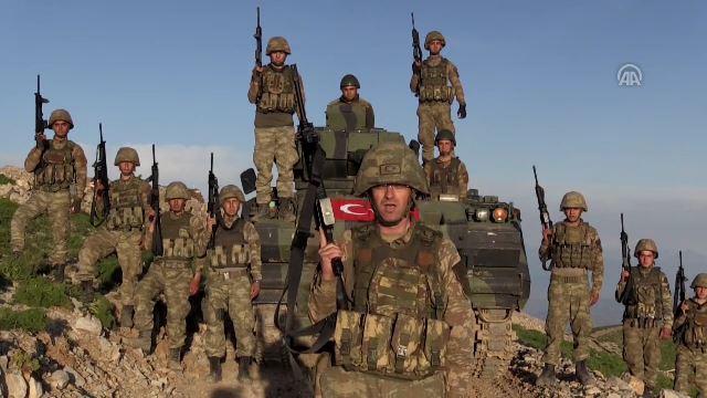 Irak'ın kuzeyindeki topraklar Mehmetçik'e emanet