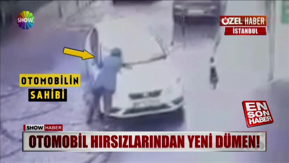 Otomobil hırsızlarından yeni dümen