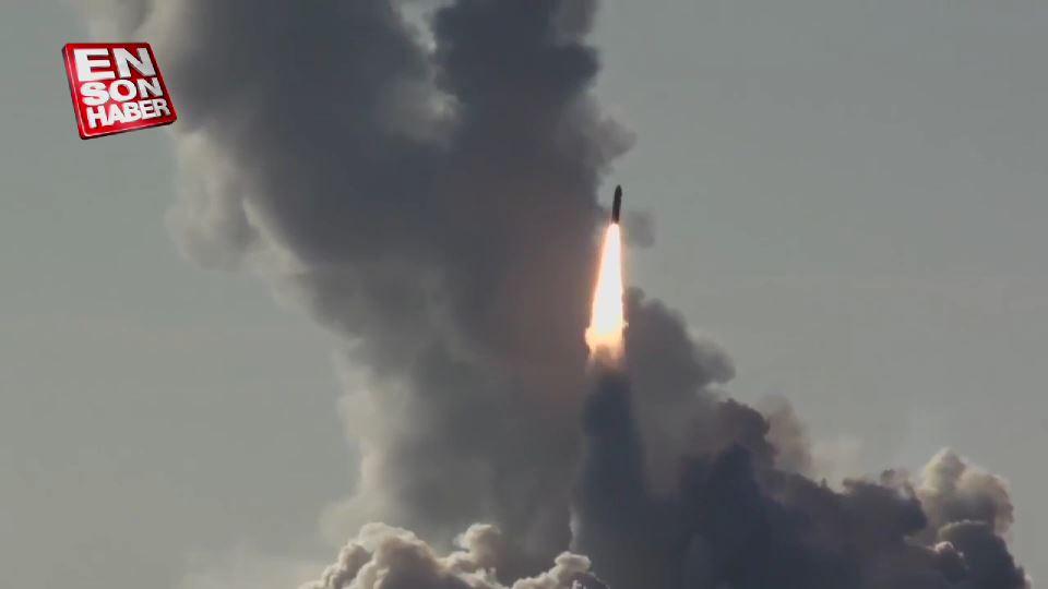 Rusya 4 füzeyi aynı anda fırlattı