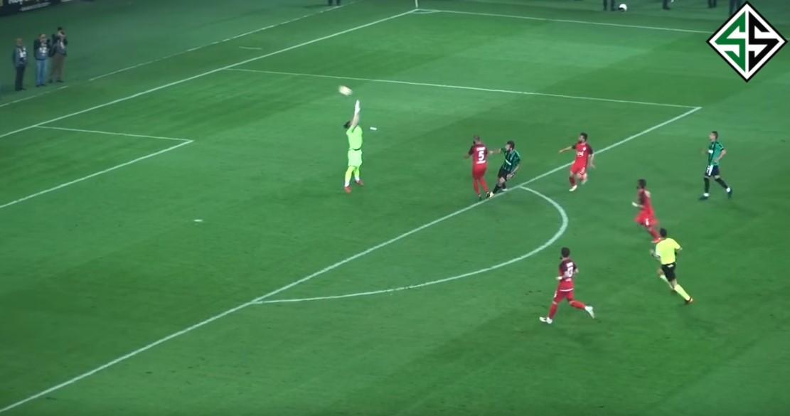 Batuhan attığı harika golle Sakarya'yı finale taşıdı