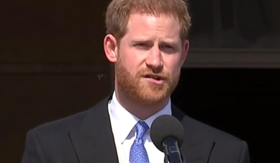 Prens Harry'yi arı soktu