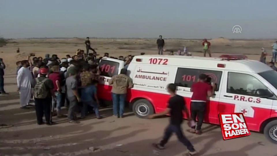 Gazze'deki Büyük Dönüş Yürüyüşü'nde dokuzuncu cuma