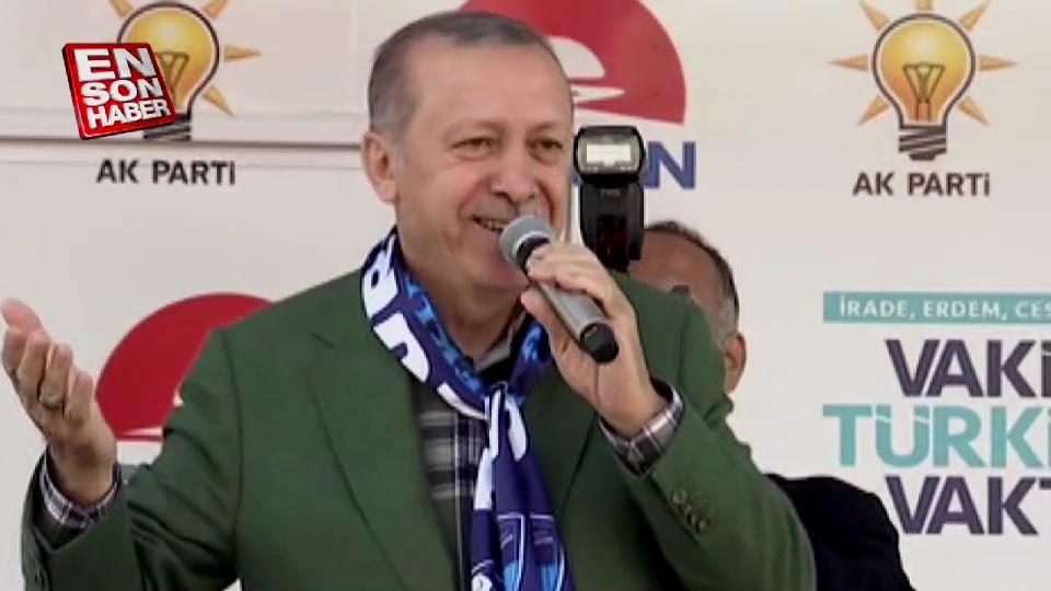 Cumhurbaşkanı, Muharrem İnce'nin sözlerini hatırlattı