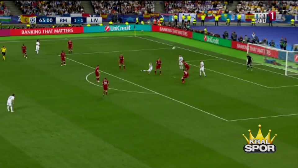 Gareth Bale'den Şampiyonlar Ligi finalinde muhteşem röveşata