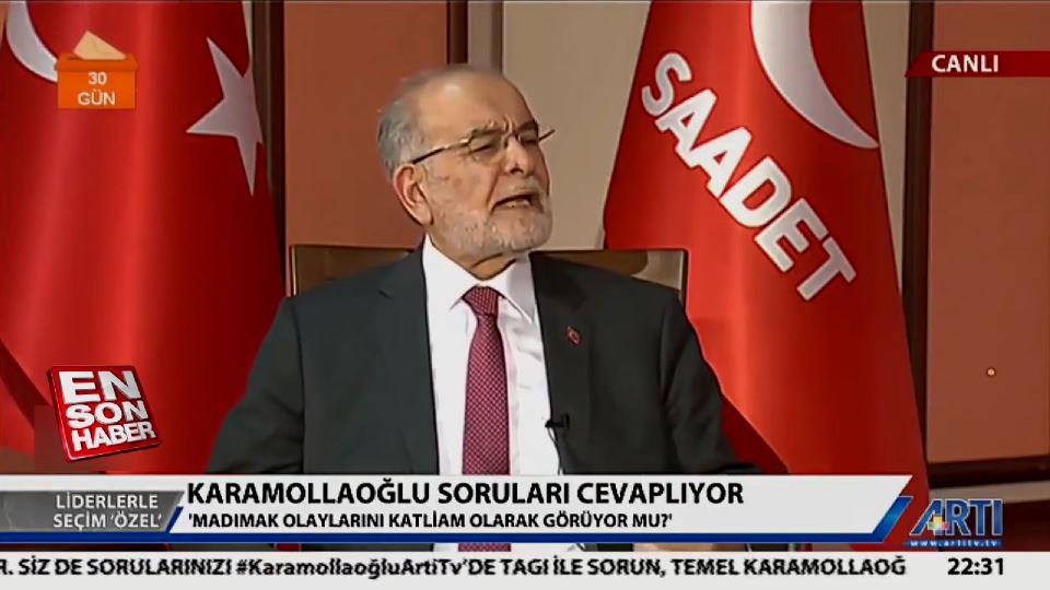 Temel Karamollaoğlu'nun tartışılan Madımak yorumu