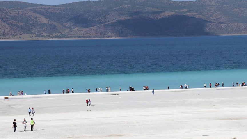 Türkiye'nin Maldivleri Salda Gölü yaza hazır