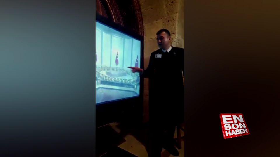 Mustafa Kemal Atatürk'ün kabrinin detayları