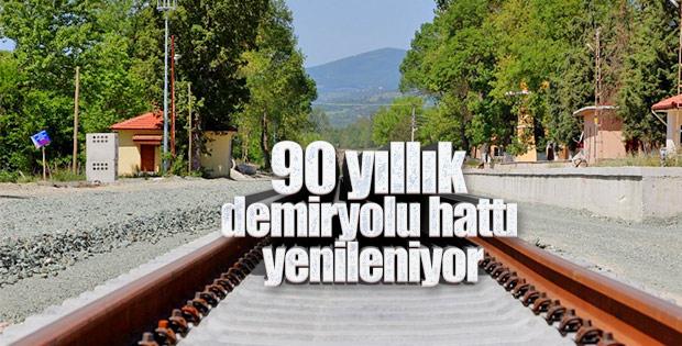 Samsun- Sivas demiryolu hattı eylülde açılıyor
