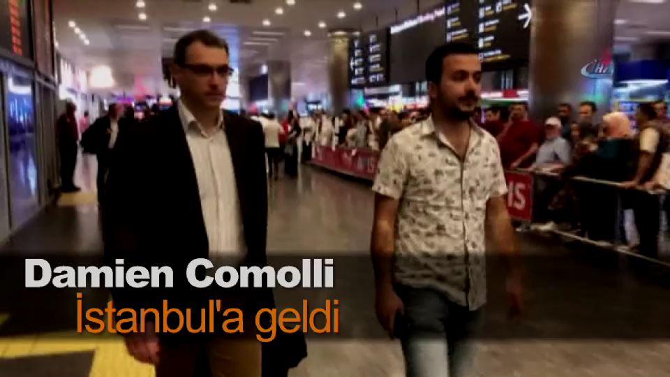 Damien Comolli İstanbul'a geldi