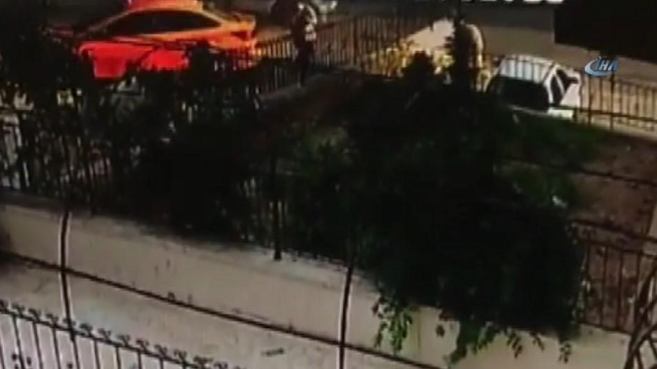 Kazadan kıl payı kurtuluş kamerada