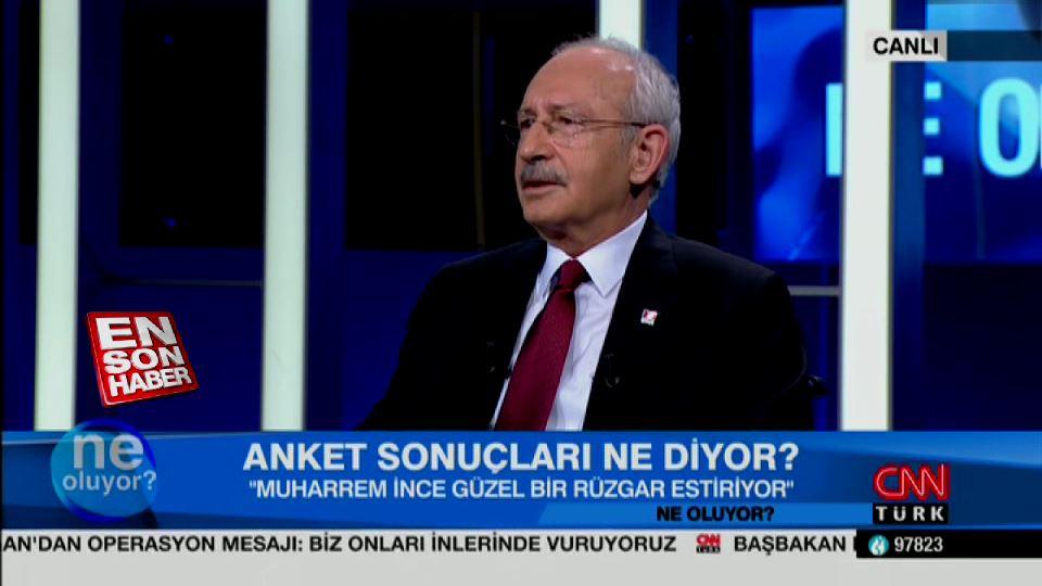 Kılıçdaroğlu, Muharrem İnce'nin oy oranını açıkladı