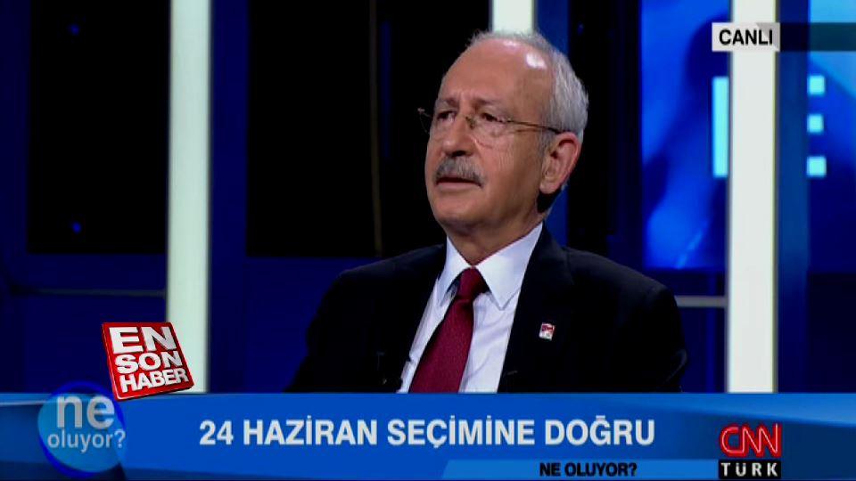 Kılıçdaroğlu: Selahattin Demirtaş terörist değildir