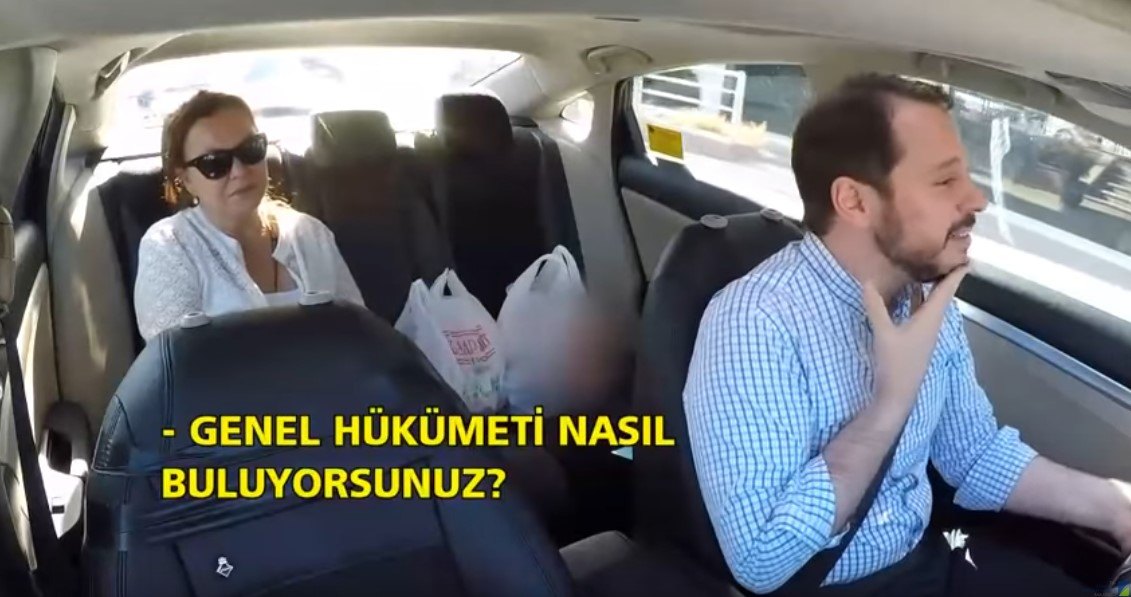 Berat Albayrak Seçim Taksi'de vatandaşları dinledi-1